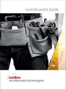 Maintenence Manual Brochure